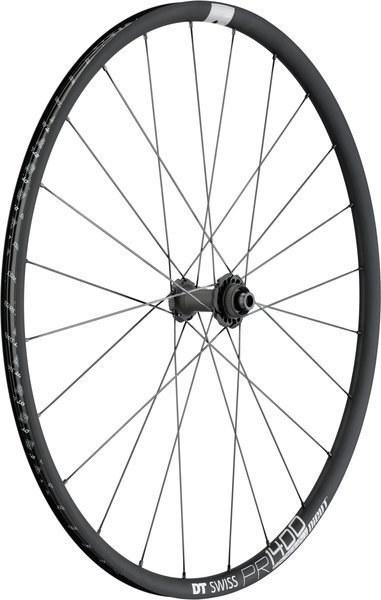 DT Swiss PR 1400 Dicut 21 Disc Brake Front Color: Black
