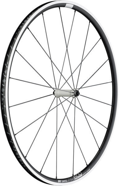 DT Swiss PR 1600 Spline 23 Front Rim Brake Axle: 100mm QR