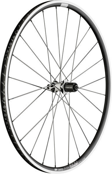 DT Swiss PR 1600 Spline 23 Rim Brake Rear Axle: 130mm QR
