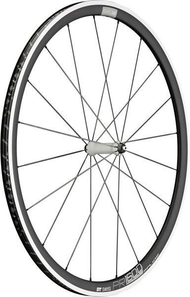 DT Swiss PR 1600 Spline 32 Front Rim Brake Axle: 100mm QR