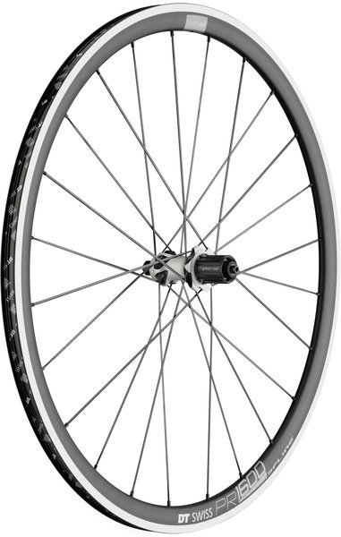 DT Swiss PR 1600 Spline 32 Rear Rim Brake Axle: 130mm QR