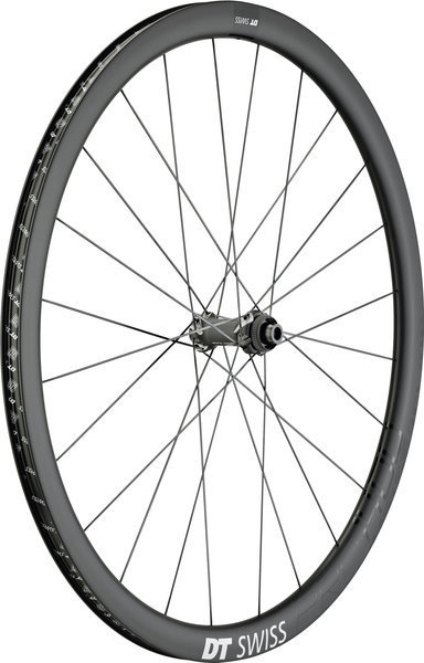 DT Swiss PRC 1400 Spline 35 Disc Model: Front