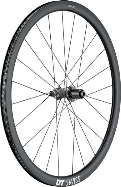 DT Swiss PRC 1400 Spline 35 Disc Brake Rear Color: Black