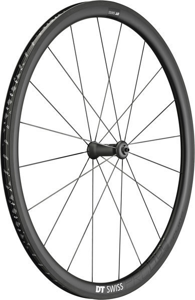 DT Swiss PRC 1400 Spline 35 Front Rim Brake Axle: 100mm QR