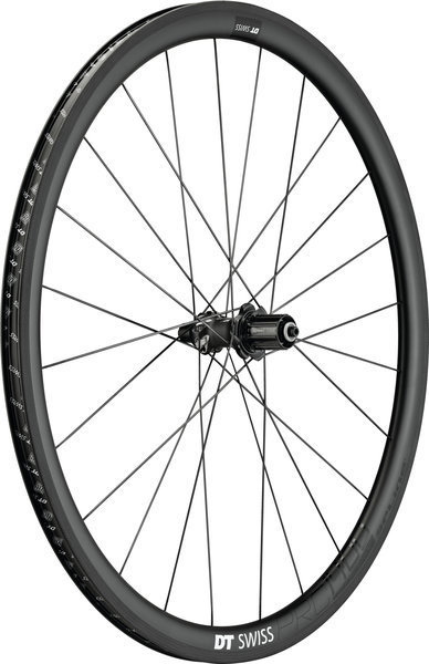 DT Swiss PRC 1400 Spline 35 Rear Rim Brake Axle: 135mm QR