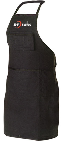 DT Swiss Shop Apron Color: Black