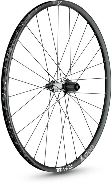 DT Swiss X 1700 Spline 22.5 27.5-inch Rear Color: Black