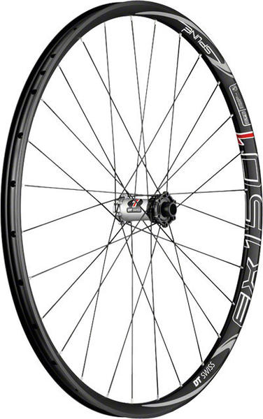 DT Swiss EX 1501 Spline One 27.5 Model: Front: 15mm Thru-Axle