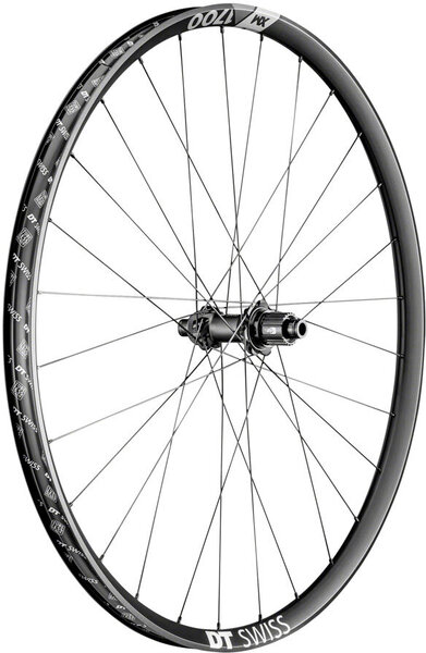 DT Swiss XM 1700 SPLINE 27.5-inch Rear Color: Black