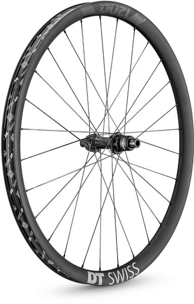 DT Swiss XMC 1200 SPLINE 30 27.5-inch Rear Color: Carbon