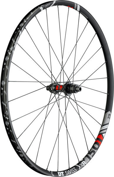 DT Swiss XR 1501 Spline ONE 22.5 29-inch Rear Color: Black