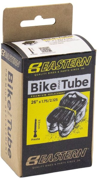 Eastern Bikes 26-inch Presta Inner Tube Color: Black
