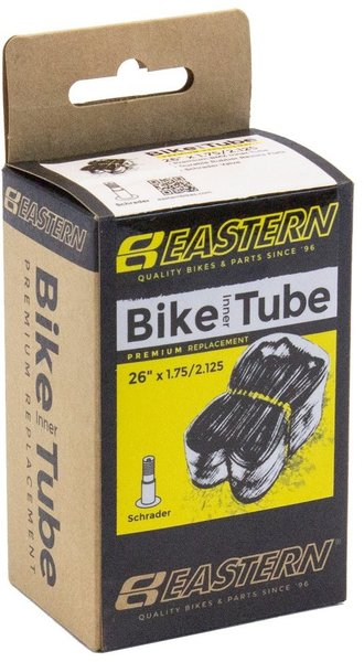 Eastern Bikes 26-inch Schrader Inner Tube Color: Black