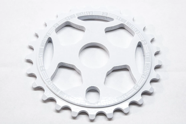 Eastern Bikes Phorcys Sprocket Color: Gloss White