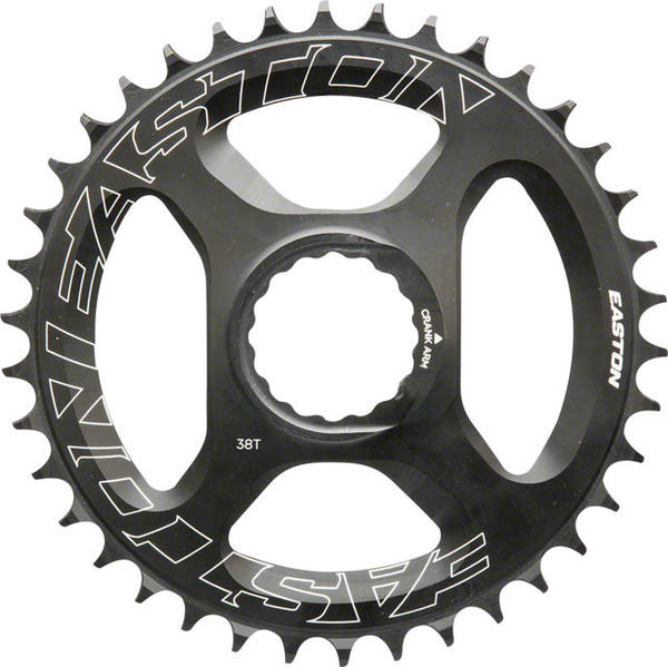 Easton Direct Mount Chainring BCD | Color | Mount Type | Size | Speeds: Spline | Black | Direct Mount | 38T | 11-speed