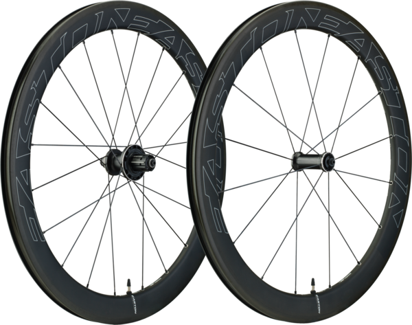 Easton EC90 Aero 55 Front Image differs from actual product. Wheelset shown.