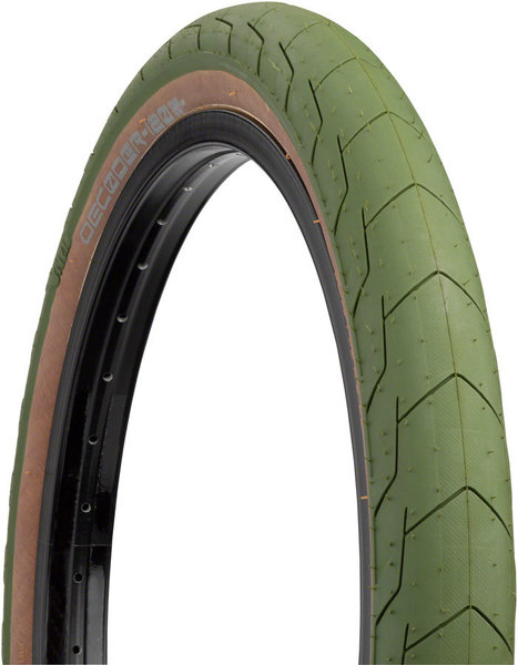 Eclat Decoder Tire Color: Army Green/Brown