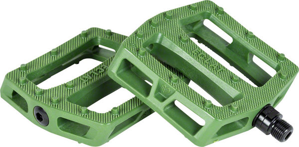Eclat Seeker Pedals Color: Army Green
