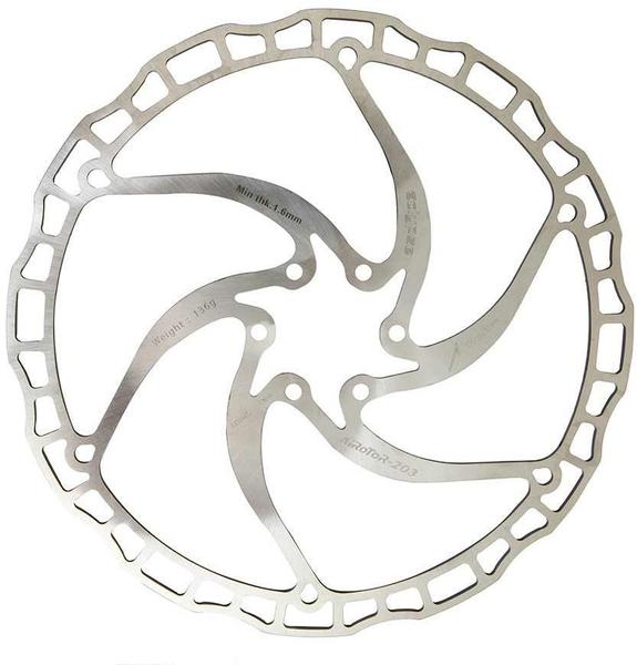 Eclypse Air Control Brake Rotor Size: 180mm