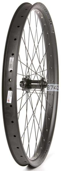 Eclypse DB743/Novatec D881 27.5+ Front Axle | Color | Size: 100 x 15mm | Black | 27.5-inch