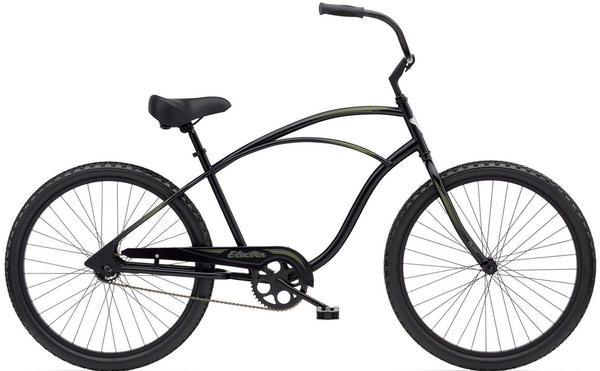 Electra Cruiser 1 Color: Black Satin