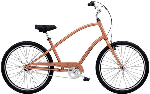 Electra Townie Original 3i Color: Copper Metallic