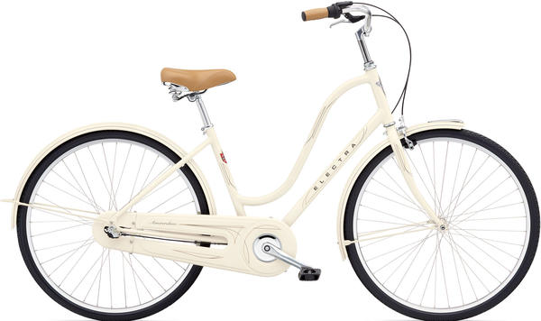 Electra Amsterdam Original 3i Ladies' Color: Cream