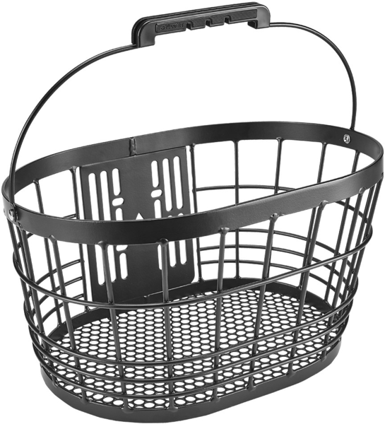 Electra Alloy Wire Front QR Basket Color: Black