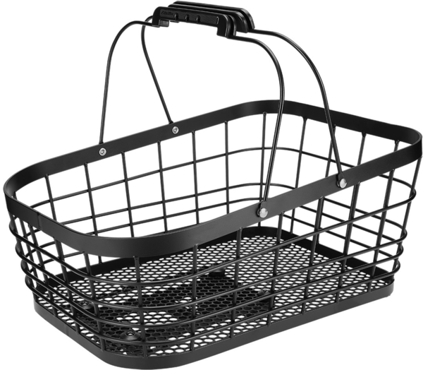 Electra Alloy Wire MIK Rear Basket Color: Black