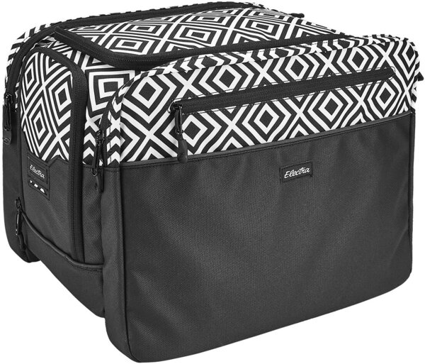 Electra Andi Trunk Rear Rack Bag Color: Black/White