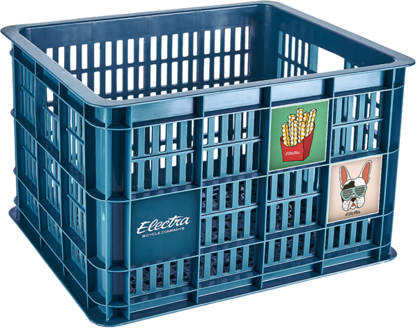 Electra Basil Bike Crate Color: Dark Teal
