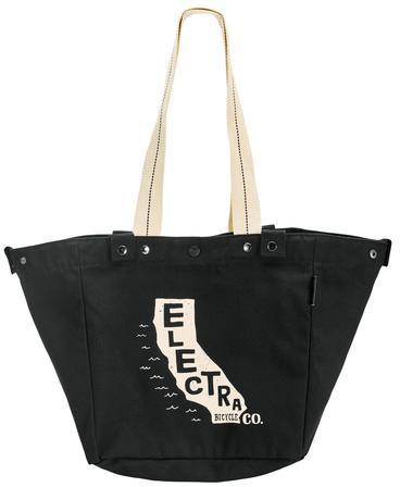 Electra Basket Tote Cali Color: Black