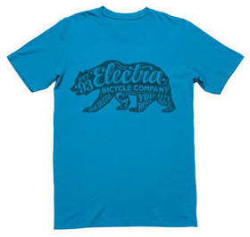Electra Bear T-Shirt Color: Ocean