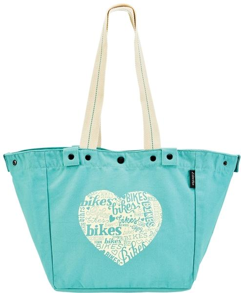Electra Basket Tote Color: Aqua