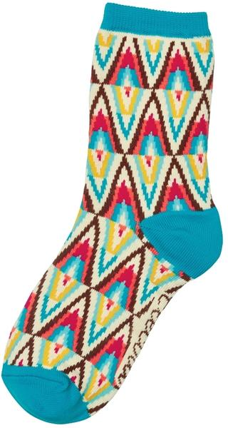 Electra Bohemian 5-inch Socks Color: Cream