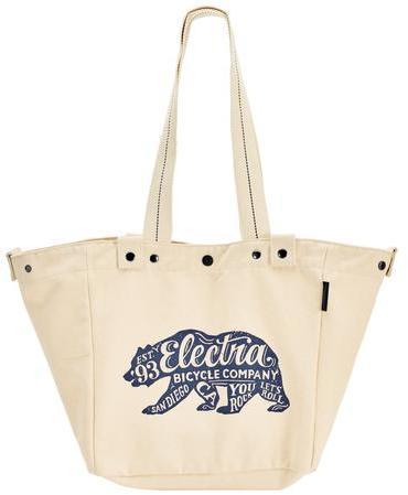 Electra Basket Tote Bear Color: Natural