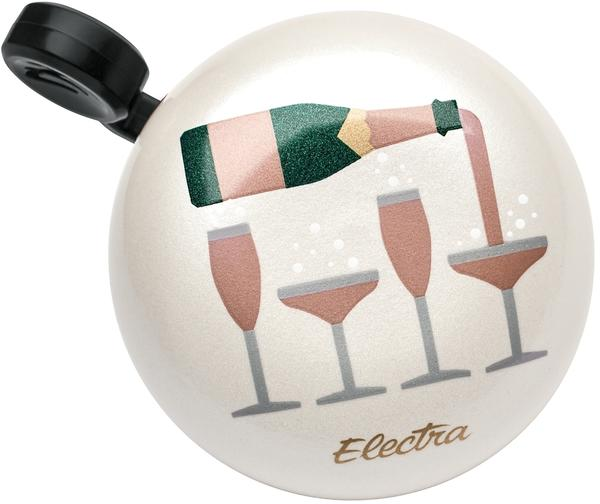 Electra Champagne Domed Ringer Bell Color: Cream Sparkle