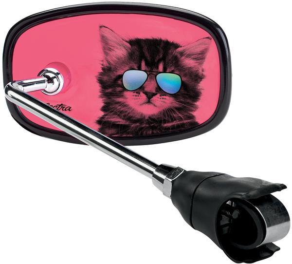Electra Cool Cat Cruiser Handlebar Mirror Color: Pink