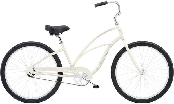 Electra Cruiser 1 24-inch Step-Thru Color: Pearl White