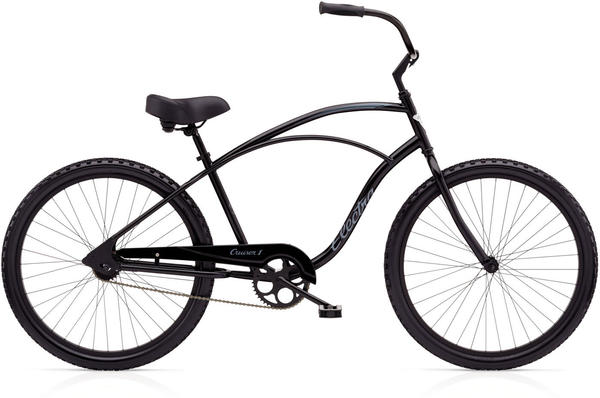 Electra Cruiser 1 Tall Color: Black Satin