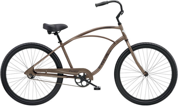 Electra Cruiser 1 Color: Matte Bark