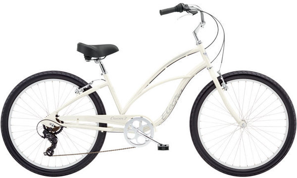 Electra Cruiser 7D 24 Color: Pearl White