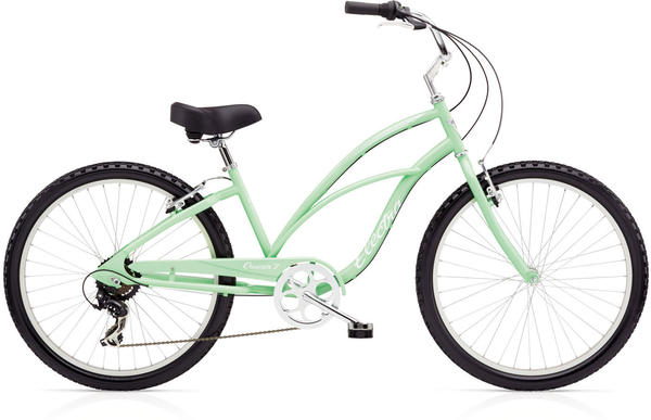 Electra Cruiser 7D (24-Inch) Ladies' Color: Seafoam Green