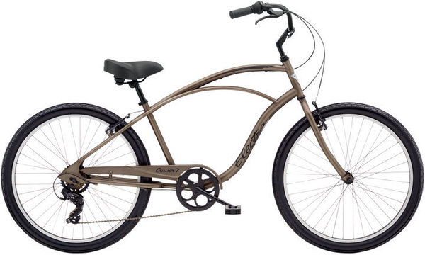Electra Cruiser 7D Step-Over Color: Matte Bark