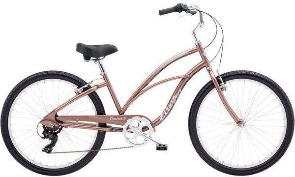 Electra Cruiser 7D Step-Thru Color: Beach Bronze