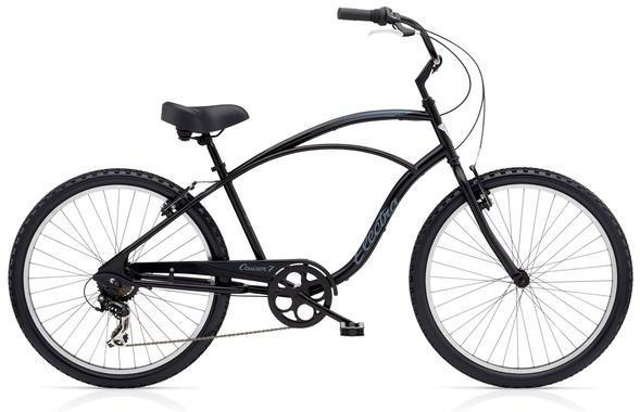 Electra Cruiser 7D Tall Color: Black Satin