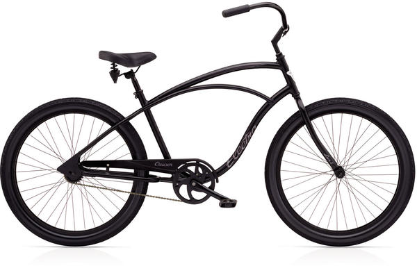 Electra Cruiser Lux 1 Color: Black Satin
