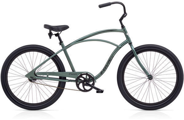 Electra Cruiser Lux 1 Step-Over Color: Anthracite