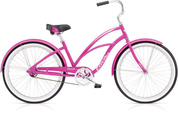 Electra Cruiser Lux 1 Step-Thru Color: Pink Sparkle