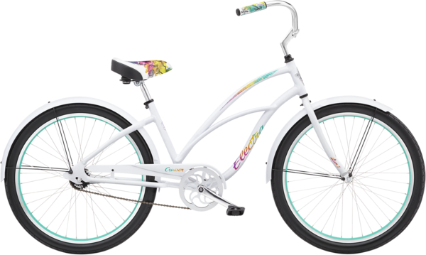Electra Cruiser Lux 1 Step-Thru Color: Bright White